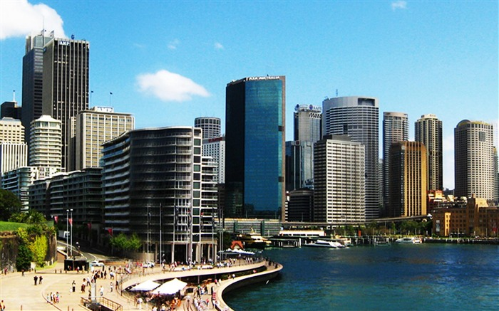 Sydney Modern Australian-City photography wallpaper Views:11310