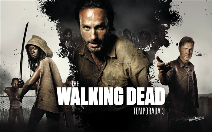The Walking Dead-American TV series Wallpaper Views:26085