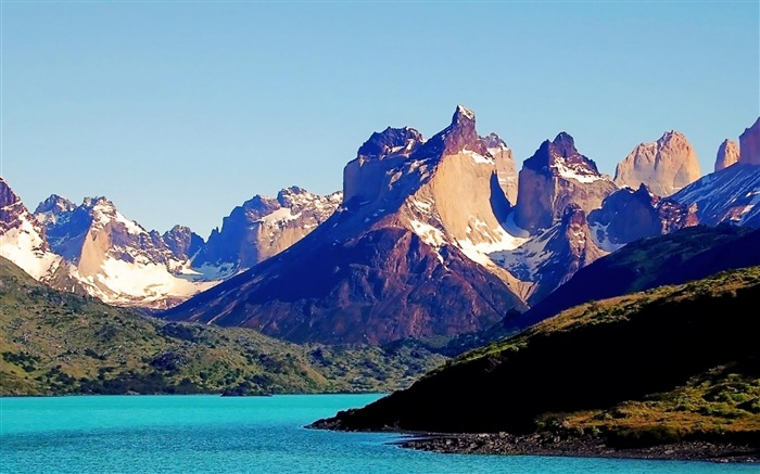 Torres del Paine National Park Chile -natural scenery wallpaper Views:4871