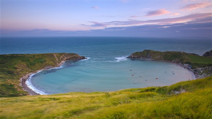 lulworth cove-Nature Wallpapers Views:4194