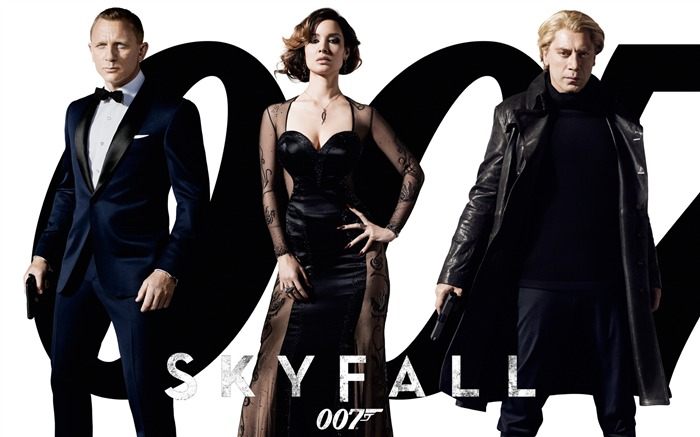 007 Skyfall 2012 Movie HD Desktop Wallpapers 01 Views:8340
