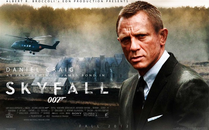 007 Skyfall 2012 Movie HD Desktop Wallpapers 02 Views:13675