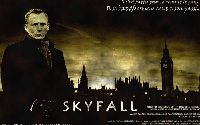 007 Skyfall 2012 Movie HD Desktop Wallpapers 11 Views:18305