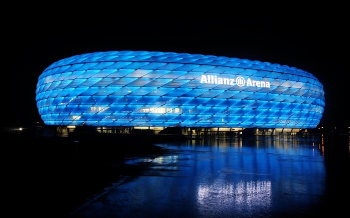 Allianz Arena Munich Germany-Cities architectural Wallpaper Views:15449