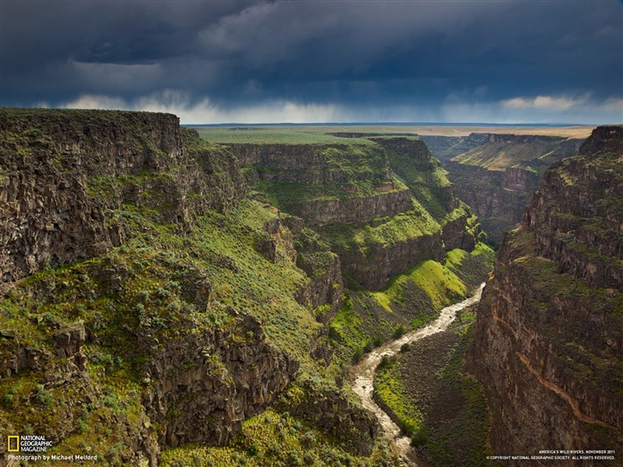 Bruneau River System Idaho-National Geographic photography wallpaper Views:7411