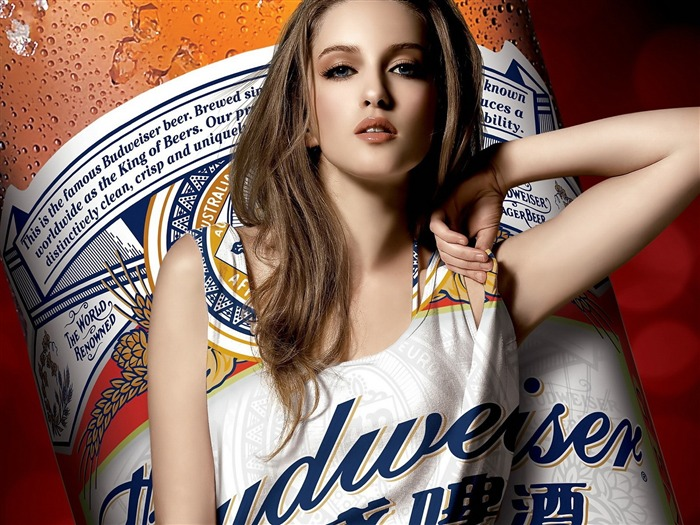 Budweiser girl Advertising desktop HD Wallpapers 01 Views:18468