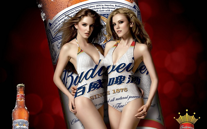 Budweiser girl Advertising desktop HD Wallpapers 02 Views:8266