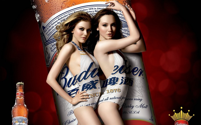 Budweiser girl Advertising desktop HD Wallpapers 04 Views:5618