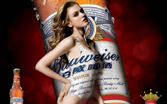 Budweiser girl Advertising desktop HD Wallpapers 05 Views:13567