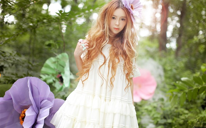 Fantasy Wizard Princess Peizi chi photo HD wallpaper 02 Views:5464