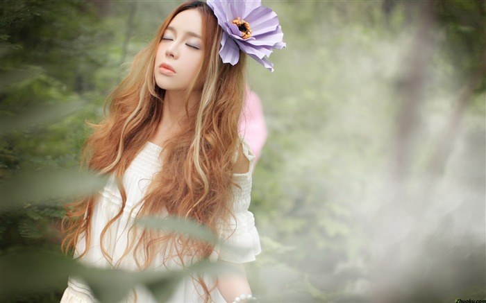 Fantasy Wizard Princess Peizi chi photo HD wallpaper 03 Views:7977
