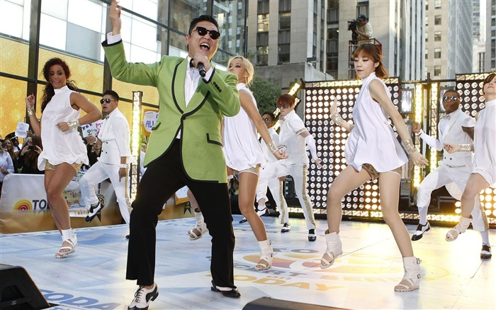 Gangnam Style PSY-Korean Best Hot Music Wallpaper Views:11261