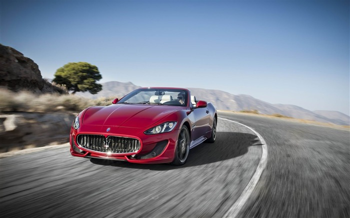 Maserati GranCabrio Sport Auto HD Wallpaper 01 Views:5367