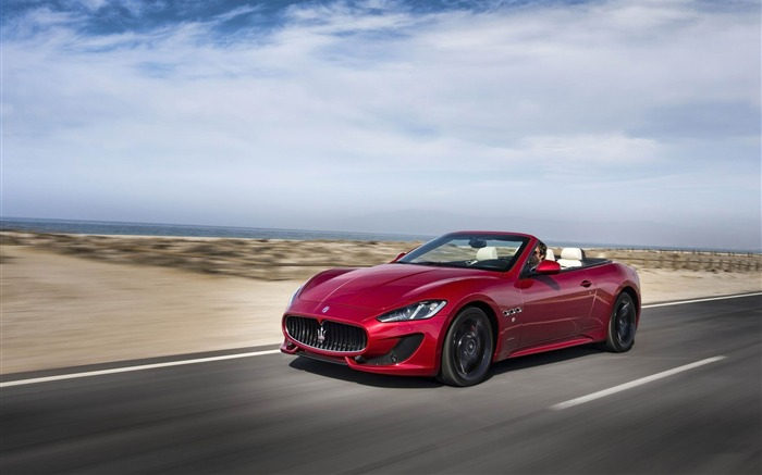 Maserati GranCabrio Sport Auto HD Wallpaper 02 Views:5580