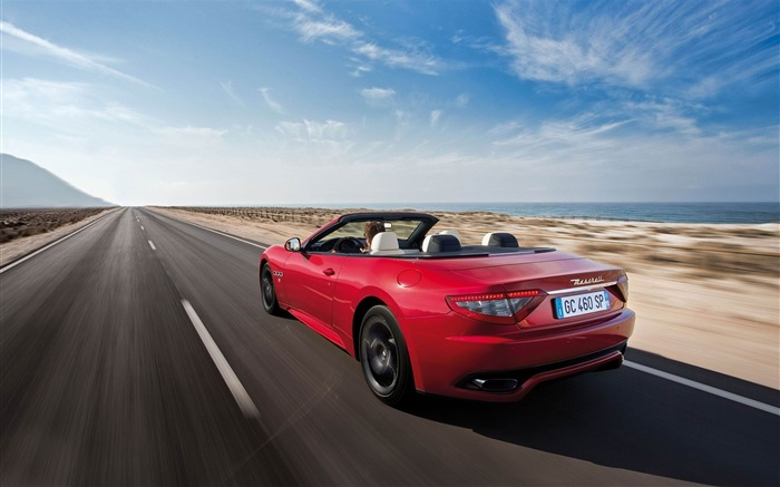 Maserati GranCabrio Sport Auto HD Wallpaper 03 Views:4445