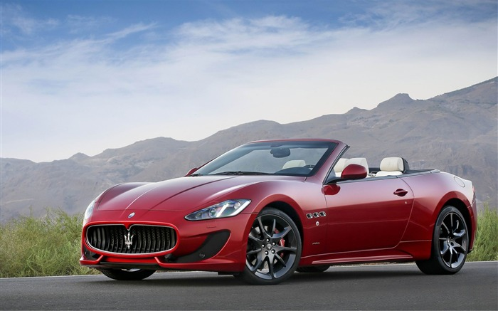 Maserati GranCabrio Sport  Auto HD Wallpaper Views:11190