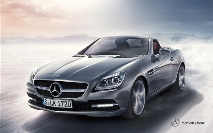 Mercedes Benz SLK roadster auto HD Wallpaper Views:8038