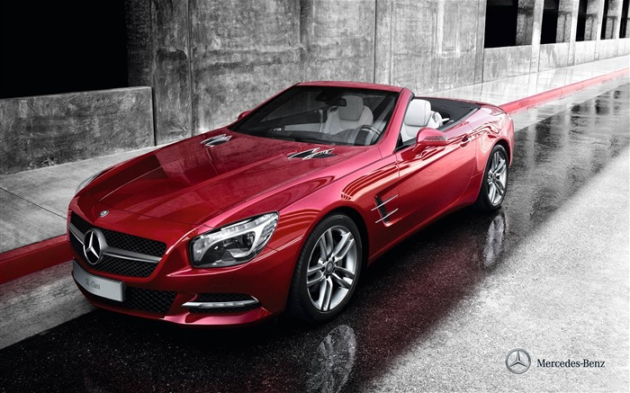 Mercedes Benz SL roadster auto HD Wallpaper Views:19726