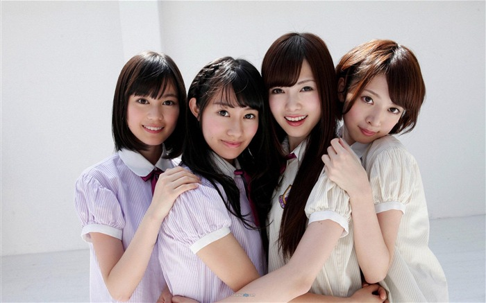 Nogizaka 46 Japan beauty popular combination HD photo wallpaper Views:21152