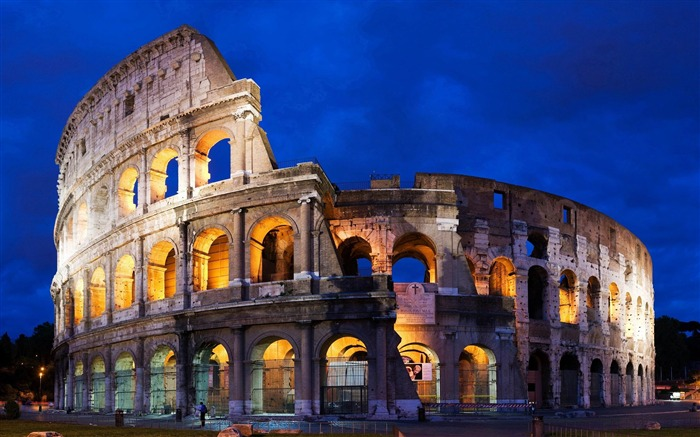 colosseum in rome-Cities architectural Wallpaper Views:6900