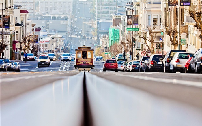 san francisco streets-Cities architectural Wallpaper Views:10533