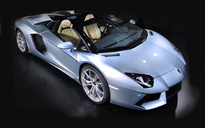 2014 Lamborghini Aventador LP700-4 Roadster cars HD Wallpapers Views:12721