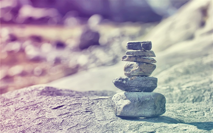 Built up stones-Small fresh landscape wallpaper Views:4276