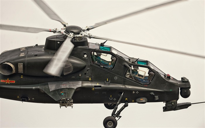 Caic Wz 10 Attack Helicopter China-2012 military Featured wallpaper Views:12986