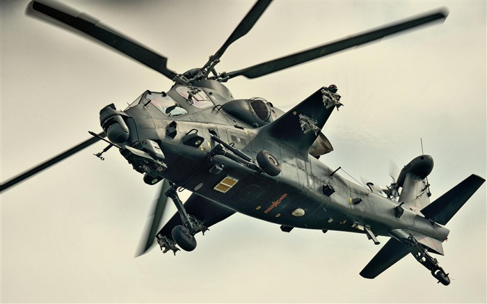 Caic Wz 10 Attack Helicopter China -2012 military Featured wallpaper Views:8613