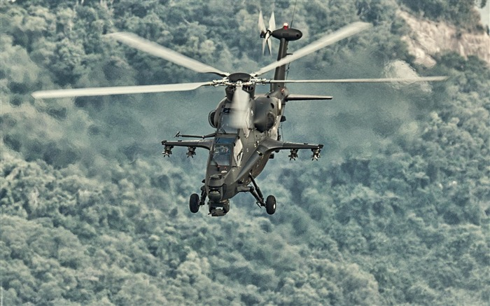 Caic Wz 10 Attack Helicopter China 2-2012 military Featured wallpaper Views:18096