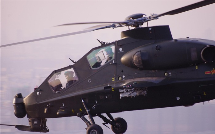 Caic Wz 10 Attack Helicopter China 4-2012 military Featured wallpaper Views:7028