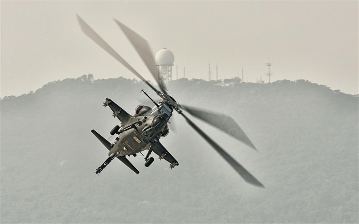 Caic Wz 10 Attack Helicopter China 5-2012 military Featured wallpaper Views:7836