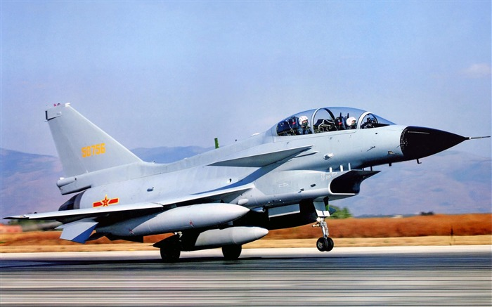 Chengdu J 10 China Air Force-2012 military Featured wallpaper Views:12376