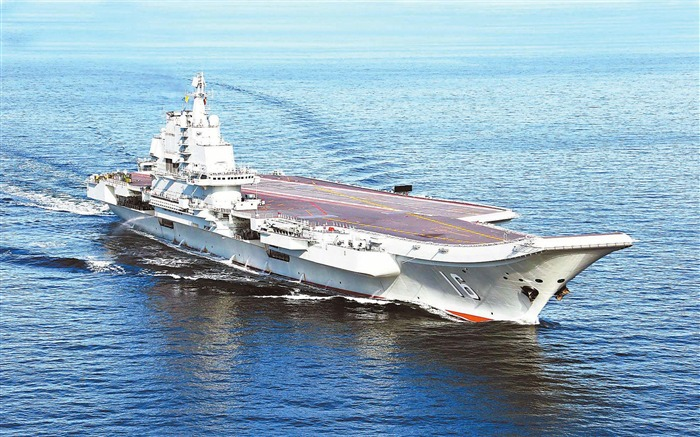 Chinas Liaoning Aircraft Carrier-2012 military Featured wallpaper Views:14720