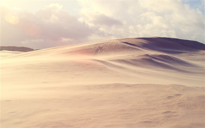 Desert Storm-Small fresh landscape wallpaper Views:5811