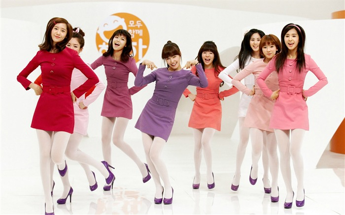 Girls Generation-beautiful girls idols combination HD photo wallpaper 12 Views:5559