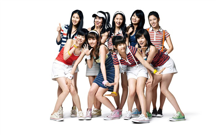 Girls Generation-beautiful girls idols combination HD photo wallpaper 13 Views:3743