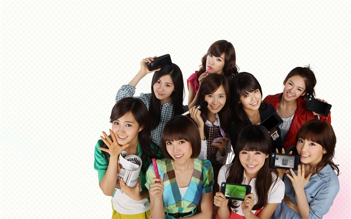 Girls Generation-beautiful girls idols combination HD photo wallpaper 14 Views:3017