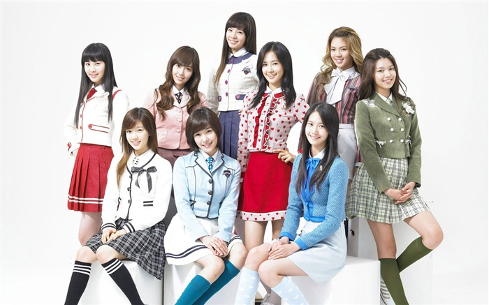 Girls Generation-beautiful girls idols combination HD photo wallpaper 16 Views:3241