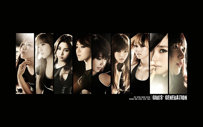 Girls Generation-beautiful girls idols combination HD photo wallpaper 17 Views:3210