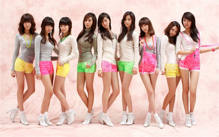 Girls Generation-beautiful girls idols combination HD photo wallpaper 18 Views:4851