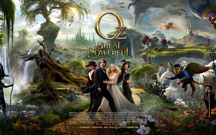Oz The Great and Powerful Movie HD Desktop Wallpapers Views:13991