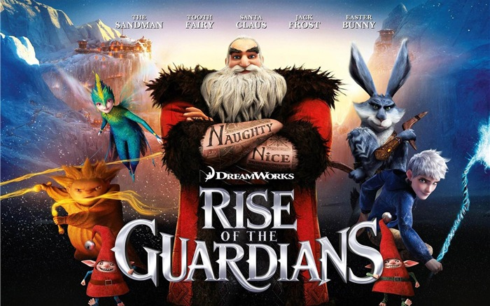 Rise of the Guardians HD Film bureau  Fonds d'écran Vues:12486