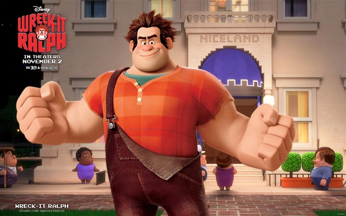 Wreck-It Ralph Movie HD Desktop Wallpapers Views:8538