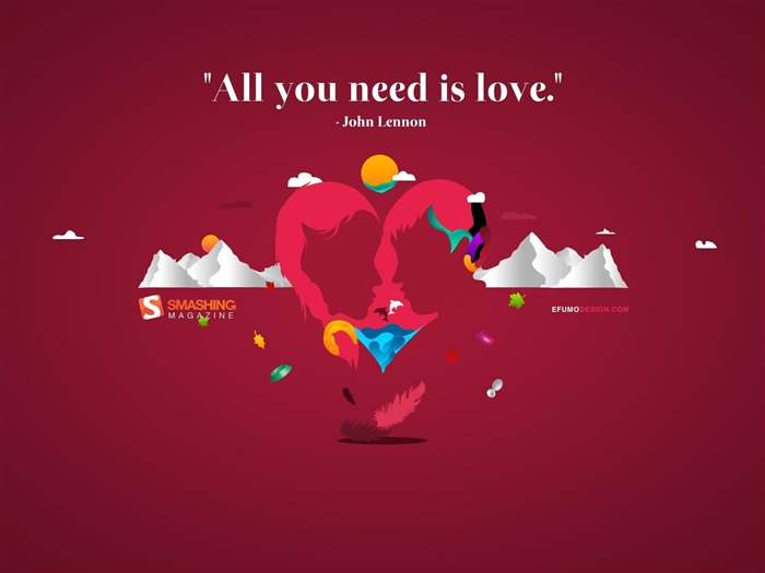 all you need is love-love theme Desktop Wallpapers Views:8057