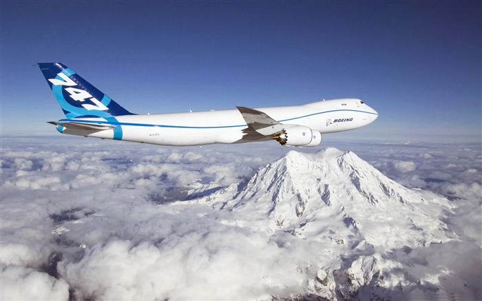 boeing 747 Sky-airplane Wallpapers Views:10771