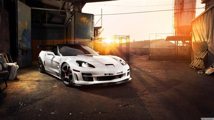 chevrolet corvette c6 zr1 tripple-2012 luxury car HD wallpaper Views:9185