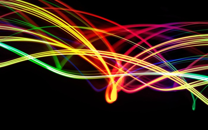 colorful light strands-2012 abstract design Selected Wallpaper Views:7007