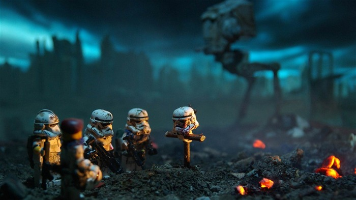 lego star wars stormtroopers-Creative graphic design Wallpapers Views:52097