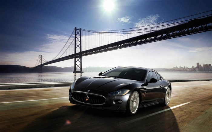 maserati granturismo-2012 luxury car HD wallpaper Views:28683